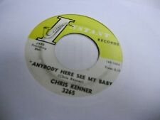 Chris Kenner She Can Dance/Anybody Here See My Baby 45 RPM Instant Records VG