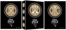 ONE PIECE:COLLECTION BOX SETS 1-3 (48 DISC DVD)  VOL 1-12 BRAND NEW!!!