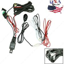 40 Amp Off Road ATV / Jeep LED Light Bar Wiring Harness Relay & ON / OFF Switch