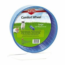 """Kaytee Large Comfort Exercise Wheel Running Small Pet Strong Toy 8.5"""" Color Vary"""