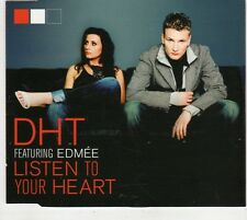 (GV213) DHT Featuring Edmee, Listen To Your Heart - 2005 DJ CD
