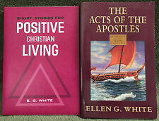 Ellen G White Duo: Positve Christian Living ~ The Acts of the Apostles SDA EGW