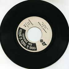 "SONNY AND CHER  LITTLE MAN SO FINE 7"" ITALY PROMOZIONALE"