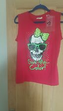ALCOTT LADIES PINK T SHIRT SIZE L  NEW WITH TAGS