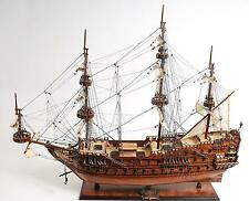 "36.7"" Long Zeven Provincien Woonden Handicrafted Model ship"
