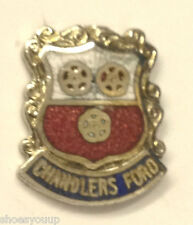 Chandlers Ford England Small Enamel Lapel Pin Badge