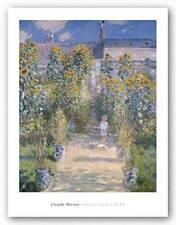 MUSEUM ART PRINT The Artist's Garden at Vetheuil 1880 Claude Monet