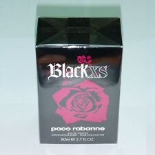 Paco Rabanne Black Xs For Her 2.7oz 80ml Women EDT Original & Sealed Box