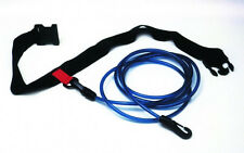 Water Gear Swimmer's Leash Stationary Cords Swim Pool Hip Belt Training 68500