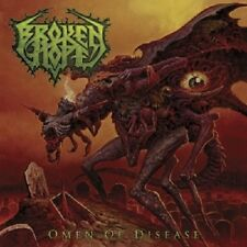 BROKEN HOPE - OMEN OF DISEASE  CD  15 TRACKS HARD & HEAVY / DEATH METAL  NEU