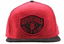 Supercobra Clothing Company - Dust & Glory Cord Snapback Cap