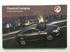 Vauxhall Audio INSIGNIA DVD NAVI 800 CD 500 400 300 Operation Instructions BOOK