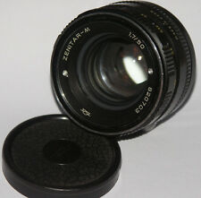 ZENITAR M 50mm f/1.7 M42 Russian lens Zenit KMZ made S/N 820703