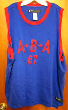 ABA American Basketball Assn 1967 throwback jersey XXXL Hardwood Classics 3XL