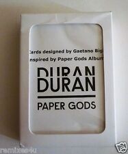 """Duran Duran """"Paper Gods"""" deck of playing cards, BRAND NEW & rare mint condition!"""