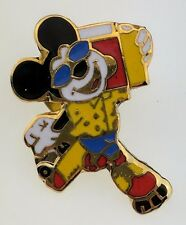 Disney WDW Mickey Skating with Boombox Trading Pin 19616 Music Dancing