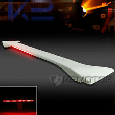 For 06-11 Civic 4Dr Sedan Factory Style ABS Trunk Spoiler Wing+LED Brake Light