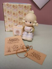 "Precious Moments 1984 Symbol Membership Join In On The Blessings E-0404 (4 1/2"")"