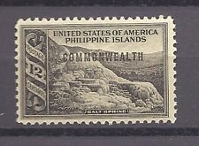 PHILIPPINES, USA , 1938/40 , COMMONWEALTH , 12c STAMP O.P.  PERF, MNH