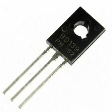 10PCS BD139 TRANSISTOR NPN 1.5A 80V TO126 NEW