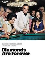 Diamonds Are Forever James Bond 007 Sean Connery (DVD, 2015) NEW
