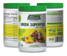 Greens Superfood Plus - Green Superfood Pineapple 10.6oz - Super Lose Weight  1C