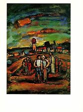 "1977 Vintage ROUAULT ""TWILIGHT"" COLOR offset Lithograph"