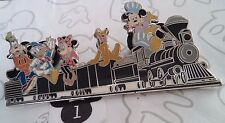 Walt's Miniature Train Fab 5 Disneyland Mickey Minnie Pluto Donald Disney Pin