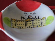 Tea Bag Holder Teapot Shaped by WHITTARD Of CHELSEA Hand Painted Ceramic NWT