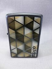 "Zippo  ""ABSTRACT CUBES"" - black matt - NEU & ovp - #753"