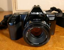 Minolta 3000i Camera with Minolta 50mm F1.7 AF Lens, Sony DSLR mount, tested