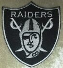 """Oakland Raiders NFL 3"""" Iron On Embroidered Patch ~USA Seller~FREE Ship"""