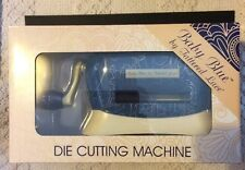 "Brand New Tattered Lace BABY BLUE Die Cutting & Embossing Machine - Cuts 3"" Dies"