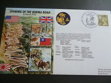 World War 2 50th Anniversary fdc 1995  Opening of the Burma Road 8th March 1945