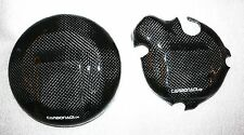 KTM LC4 625/640 2x CARBON KUPPLUNGSDECKEL LIMADECKEL COVER HIGH FLOW ENGINE