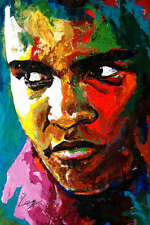 MUHAMMAD ALI PAINTING POSTER PRINT 36x24