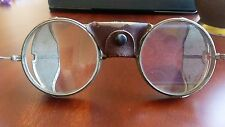Antique American Optical Safety Glasses Goggles Motorcycle Steampunk