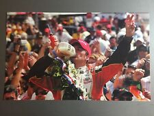2006 Dan Wheldon Indy 500 Victory Indy Car Print Picture Poster RARE