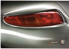 ALFA ROMEO GT 2008-09 UK Opuscolo Vendite sul mercato 2.0 JTS 1.9 JTDM LUSSO q2