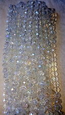 Joblot of 10 strings (720 beads) 10mm clear AB Colour Crystal beads  Wholesale