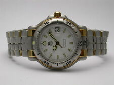 TAG HEUER WH1257 200 METERS QUARTZ STAINLESS STEEL & 18K GOLD WOMEN'S WATCH