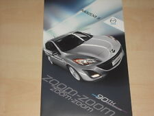 59254) Mazda 3 - 90th Anniversary - Prospekt 07/2010