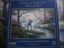 1000 PUZZLE FROM THOMAS KINKADE TITLED IT DOESN'T GET ANY BETTER