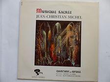 JEAN CHRISTIAN MICHEL Musique sacrée Quatuor avec orgue 521090