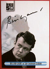 THE AVENGERS 50th - WILLIAM GAUNT as Sub-Lieutenant Graham - Autograph Card AVWG