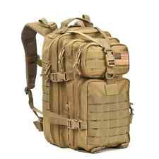 Military Tactical Assault Pack Backpack Army Molle Waterproof Bug Out Bag Backpa