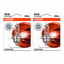 H4 Osram Original Fog Light Bulbs Front Spot Lamps Genuine