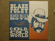 BLAZE FOLEY - COLD COLD WORLD LP townes van zandt steve earle rare viny rsd new