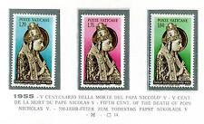 VATICANO - 1955 - V° centenario della morte di Niccolo V°