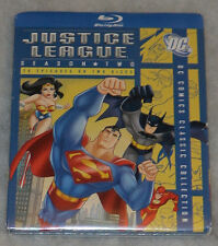 Justice League: Season Two 2 (Batman & Superman) - Blu-Ray Box Set NEW SEALED